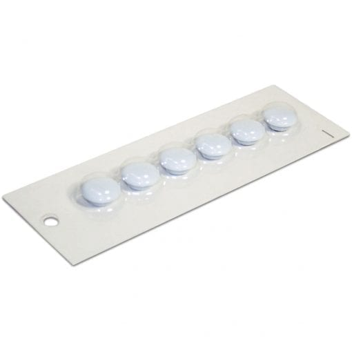20mm White Small White Magnetic Buttons