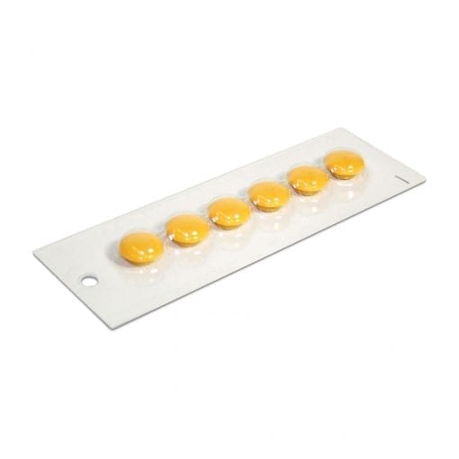 20mm Yellow Small Yellow Magnetic Buttons