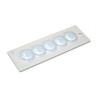 30mm Large White Magnetic Buttons