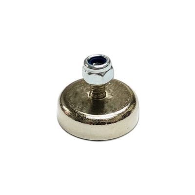 CAPN20M - 20mm x 6mm Neodymium Male Threaded Pot