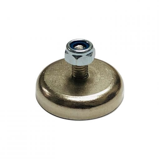 32mm x 8mm Neodymium Male Threaded Pot