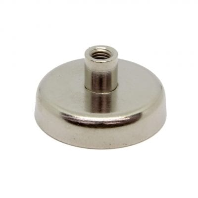 48mm x 11.5mm Neodymium Female Threaded Pot