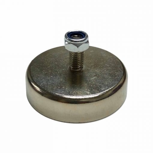 CAPN60M - 60mm x 15mm Neodymium Male Threaded Pot
