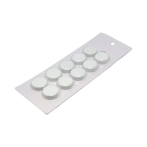 20mm Small White Magnetic Discs