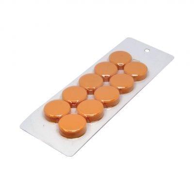 30mm Large Orange Magnetic Discs