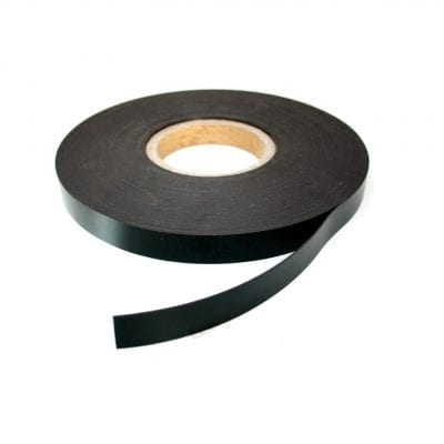 20mm Black Magnetic Strip