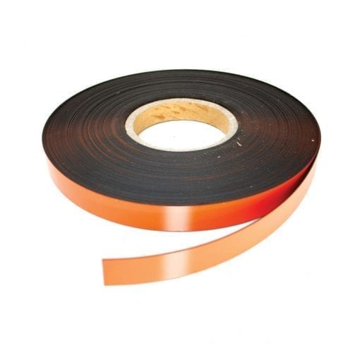 20mm Orange Magnetic Strip