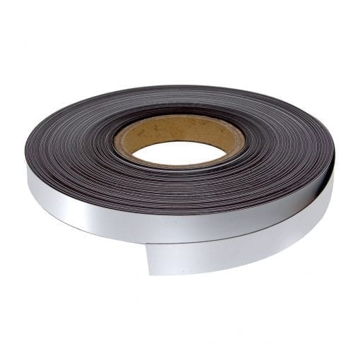 20mm White WO/WO Magnetic Strip