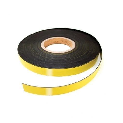 20mm Yellow Magnetic Strip