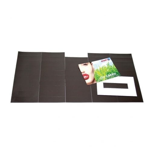 100mm x 25mm Self Adhesive Magnetic Patches