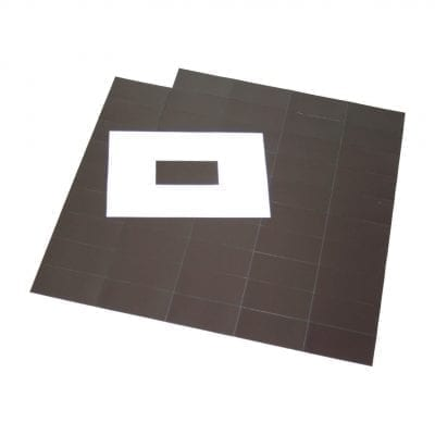 60mm x 30mm Self Adhesive Magnetic Patches
