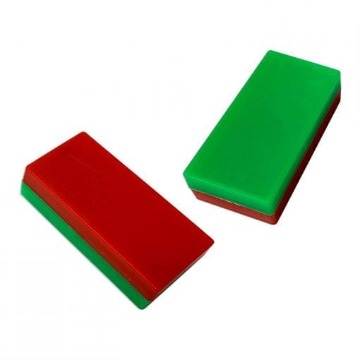 Red & Green MemoMag Block