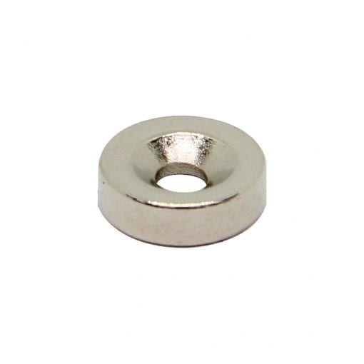 10mm x 3mm x 3mm Countersunk Neodymium Ring