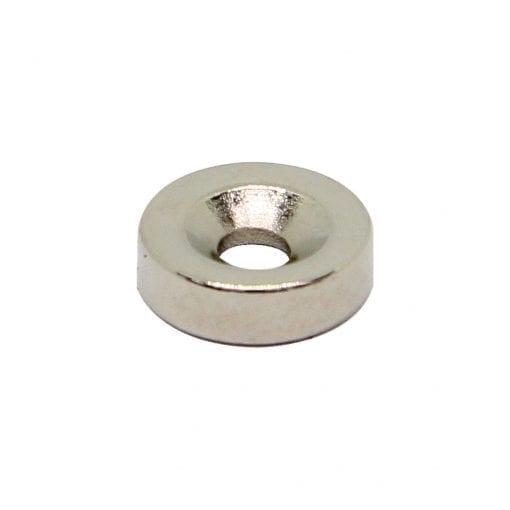 10mm x 3mm x 3mm Countersunk Neodymium Ring