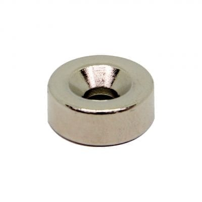 15mm x 4mm x 6mm Countersunk Neodymium Ring
