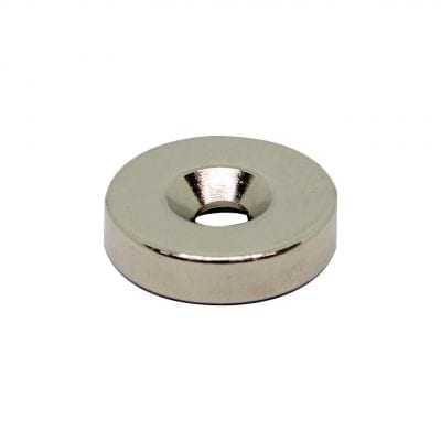 20mm x 4.5mm x 5mm Countersunk Neodymium Ring