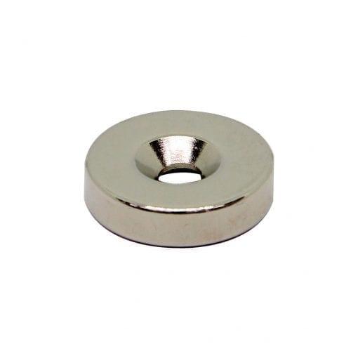 20mm x 4.5mm x 5mm Countersunk Neodymium Ring