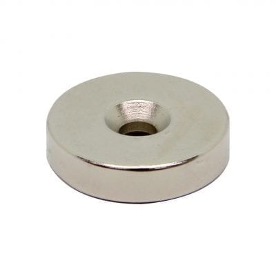 25mm x 5mm x 6mm Countersunk Neodymium Ring