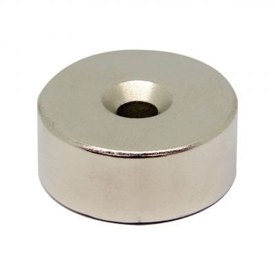 35mm x 7mm x 15mm Countersunk Neodymium Ring