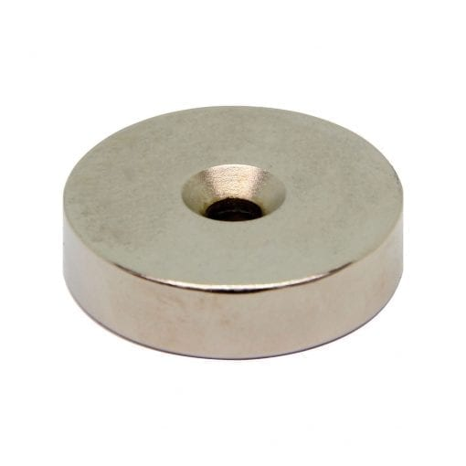 40mm x 6.5mm x 10mm Countersunk Neodymium Ring