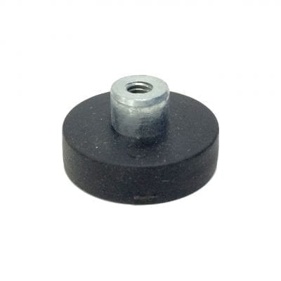 22mm Female Rubber Encased Holding Magnet