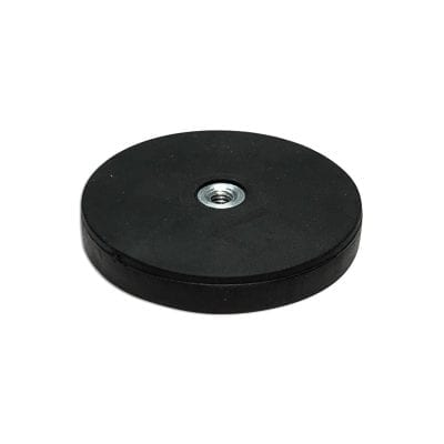 RUBBERMAG43F - 43mm Female Rubber Encased Holding Magnet