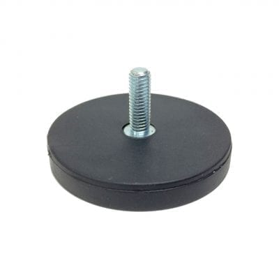 43mm Male Rubber Encased Holding Magnet