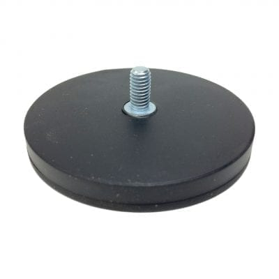 66mm Male Rubber Encased Holding Magnet