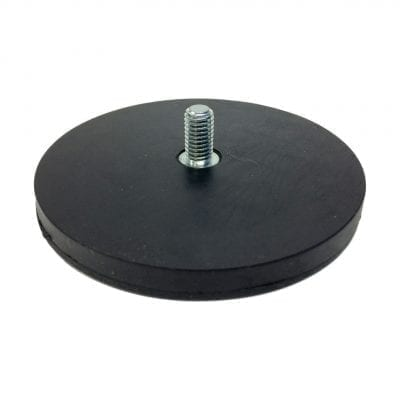 88mm Male Rubber Encased Holding Magnet