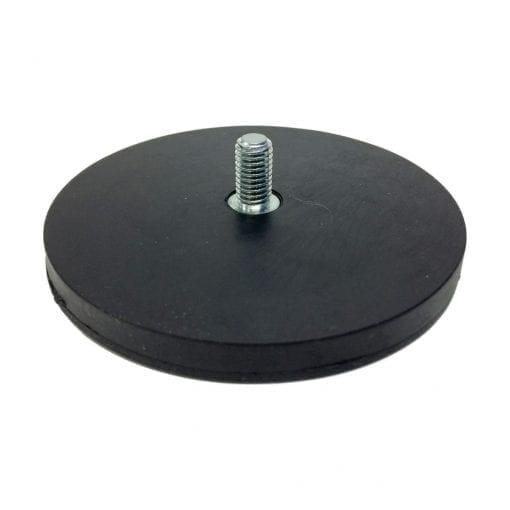 88mm Male Rubber Encased Holding Magnet