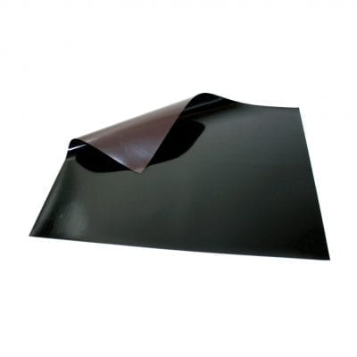 620mm x 500mm Black Magnetic Sheet