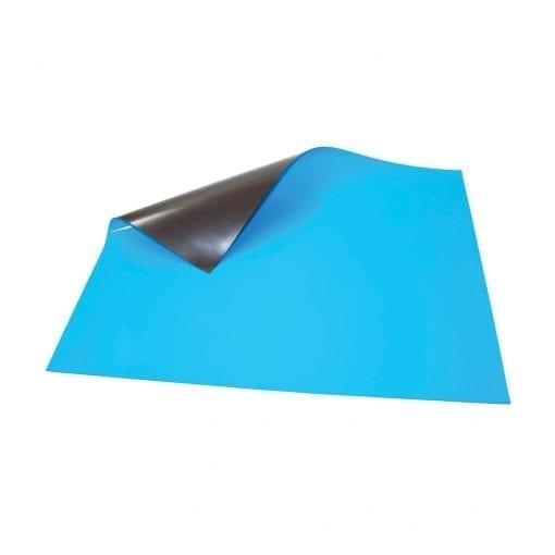 620mm x 500mm Blue Magnetic Sheet