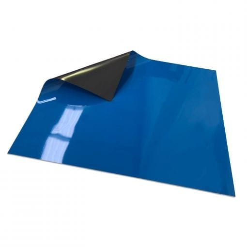 Blue Write On Wipe off Magnetic Sheeting