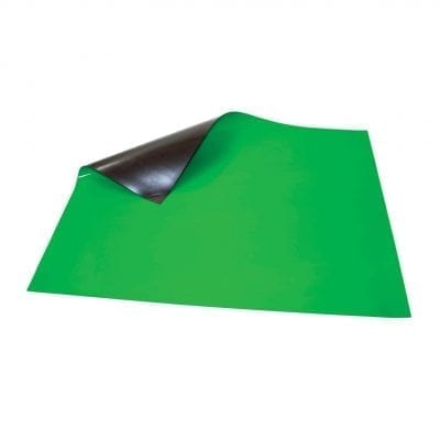 620mm x 500mm Green Magnetic Sheet