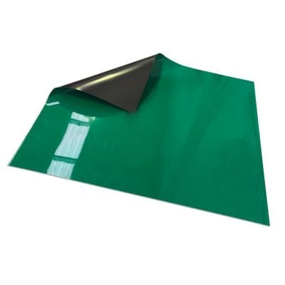 620mm x 500mm Magnetic Sheet - Green