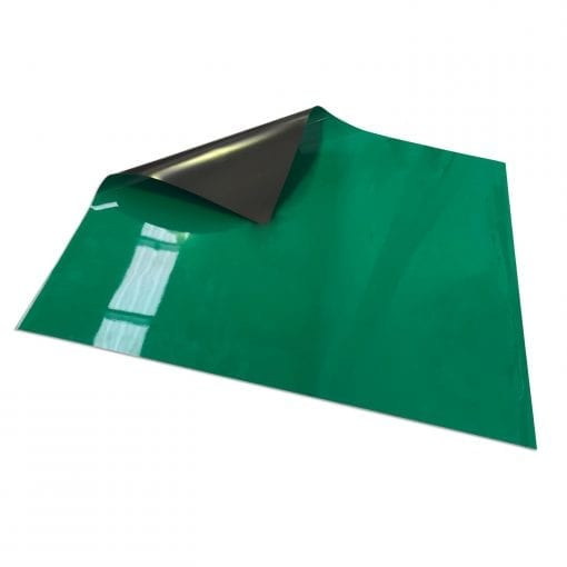 Green Write On Wipe off Magnetic Sheeting