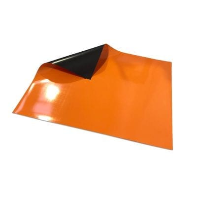 620mm x 500mm Magnetic Sheet - Orange
