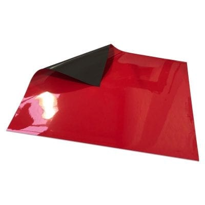 620mm x 500mm Magnetic Sheet - Red