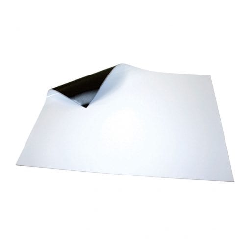 620mm x 500mm White Magnetic Sheet