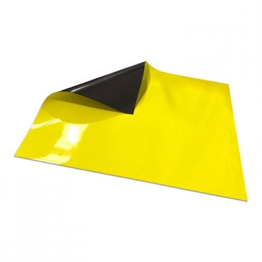 620mm x 500mm Magnetic Sheet - Yellow