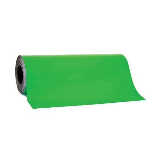 0.85mm x 620mm Green Magnetic Sheeting