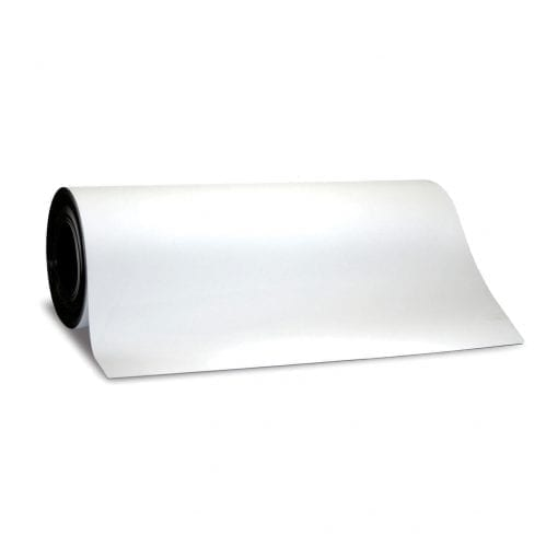 0.65mm x 620mm White WO/WO Receptive Sheeting