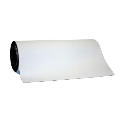 0.65mm x 620mm White WO/WO Magnetic Sheeting
