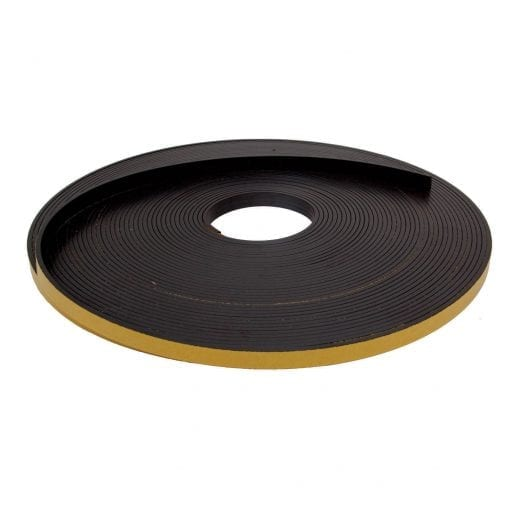 12.5mm x 3mm Self Adhesive Magnetic Strip
