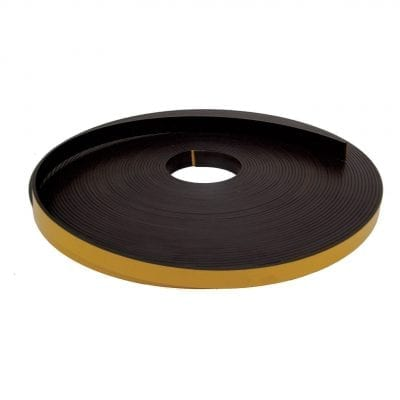 20mm x 3mm Self Adhesive Magnetic Strip