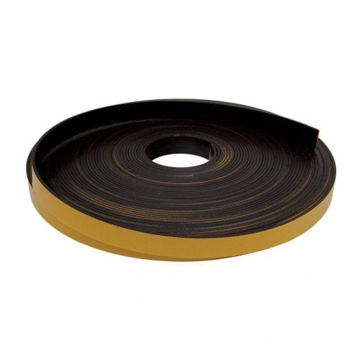 25mm x 3mm Self Adhesive Magnetic Strip