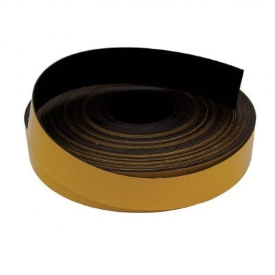 50mm x 1.6mm Self Adhesive Magnetic Strip