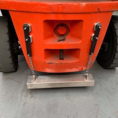 550mm Magnetically Attached Sweeper