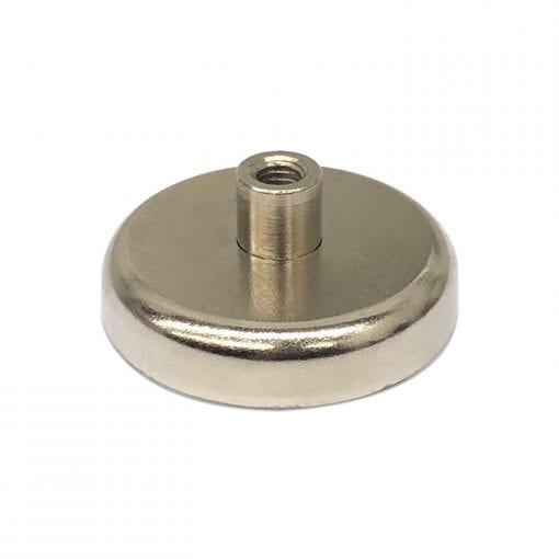 42mm x 10mm Neodymium Female Threaded Pot