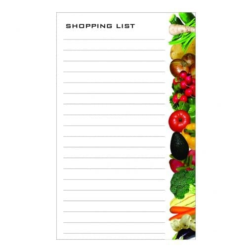 Shopping List Pads (Pad Only)